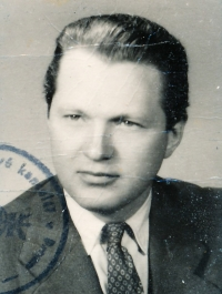 Vladimír Brabec in 1950s
