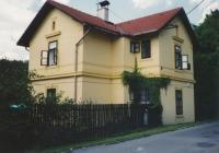 House of his great-grandfather Eduard Grégr in Lštění