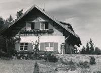 Villa Grošíček, around 1944