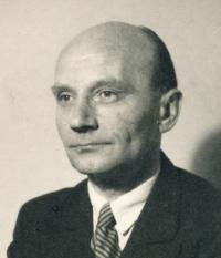 Vladimír Grégr´s father in 1945