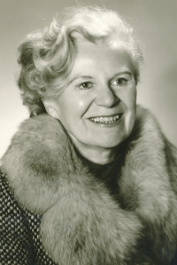Hana Truncová v 70. letech
