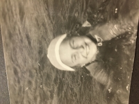 učila sa plávať vo Vltave