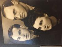 Po maturite s bratmi 1940