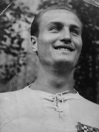 Milan Fráňa, his father
