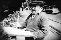 Slovak painter Ľudovít Feld