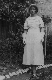 Fedor Gabčan's mother