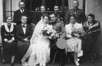 Wedding photograph of Fedor Gabčan's parents