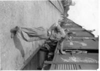 last photo of Karel Steklý in Italy, transport home to Slovakia