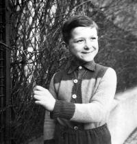 Vladimír Šiler in Znojmo / around 1959