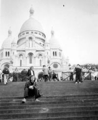 Vladimír Šiler in Paris in 1990