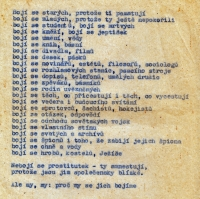 One of the leaflets reproduced by Vladimír Šiler at the time of normalization