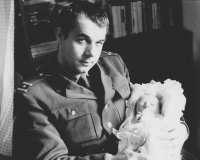 December 1973, Pavel Jajtner was granted two days permission to leave the crew of the military radar unit in Rožmitál pod Třemšínem, his son, Pavel, was not even one month old when this photograph was taken