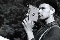 Roman Fürst as an amateur cameraman