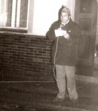 Pavel Jajtner, November 1989