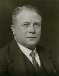 20. léta 20. století, Hugo Vavrečka, dědeček Ivana M. Havla