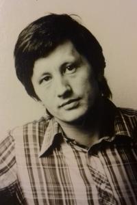 Václav Bahník in his youth