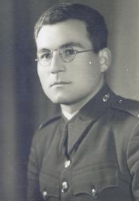 His father, Albín Jajtner, 1938