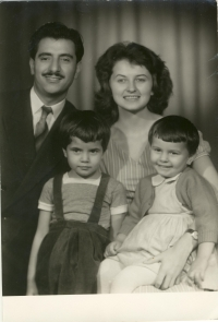 The Ghassemlou family, the end of 1950s