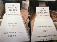 Ibolia and Max Preuss are buried in Jerusalem