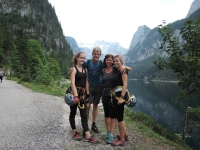 Witness with the family in Ferraty Gosausee, Switzerland 2019