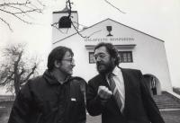 Zdeněk Bárta and Milan Gryndler in 1980s