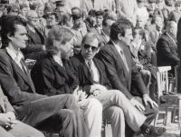 Václav Havel in Litoměřice in 1991