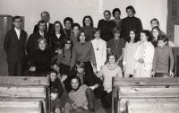 Meeting at the Kocábs in Mladá Boleslav in 1972