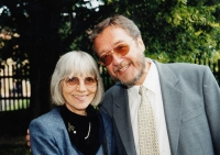 With MUDr. J. Moserová in 2000