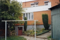 Half-house at Letná in Zlín, where the witness lived between 1957 and 2005