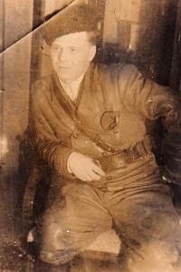 Partyzánský velitel I. P. Stěpanov