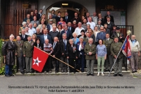 S přáteli z veteránských organizací, Velké Karlovice, 2019