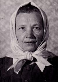 Rozálie Baletková, kolem roku 1945