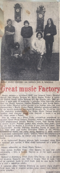 Band Great Music Factory