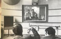 Czechoslovak Radio, Bratislava, editor Pavol Paska, from the back