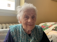 Witness Paulina Dubenova today as 97 years old