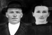 Anna a Jan Turýnovi, kteří byli v dubnu 1945 upáleni nacisty v Prlově