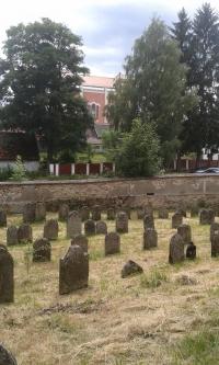 Old Jewish cemetary in Nová Cerekev in Vysočina