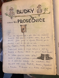 A sample of an entry in the scouts' chronicle