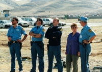 With the colleagues from mission in Iraq, 1996
