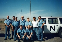 With the colleagues from mission in Iraq, 1996-1997