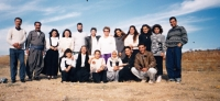 With the students from Duhok, Iraq, circa 1996