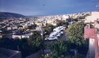 A view from the roof of the UN headquarters in Duhok, Iraq, 1996 or 1997