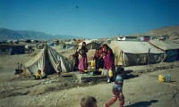 A refugee camp near Duhok, Iraq, 1996 or 1997
