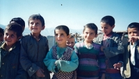 Boys from a refugee camp near Duhok, Iraq, 1996 or 1997