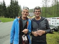 Brothers Jan and Tomáš at the common trip to Ostrý in 2019