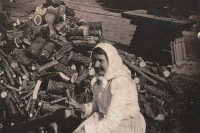 Mother Antonie Šestáková at work