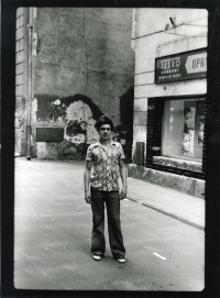 Frýdek-Místek at the turn of the 1970s and 1980s through the eyes of Jiří Hrdina
