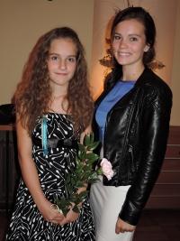 Matriculation of daughter, grammar school of Dobříš in 2016