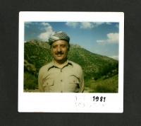 Abdul Rahman Ghassemlou in Iraqi Kurdistan, 1981