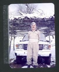 From the family album, Abdul Rahman Ghassemlou in Iraqi Kurdistan, January 1986